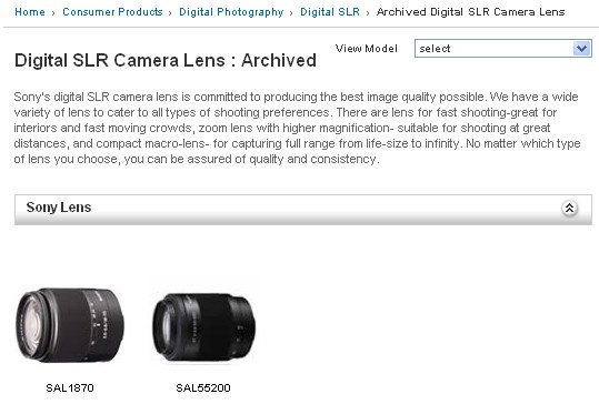 discontinued-sony-lenses