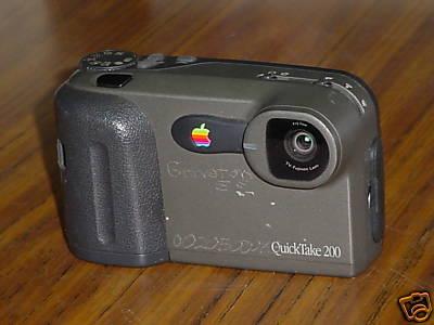Apple QuickTake 200 digital camera @ eBay