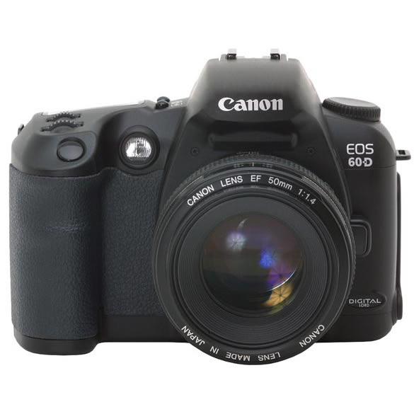 Canon 60D mockup