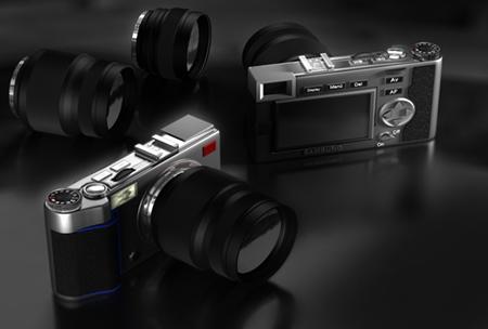 Samsung NX concept camera