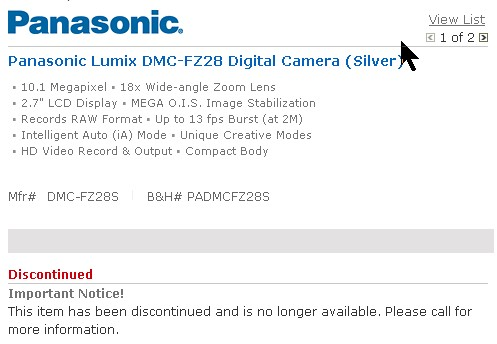 panasonic-lumix-dmc-fz28-discontinued
