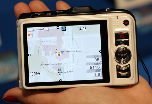 The rest of CES: Casio EX 10HG with built in GPS