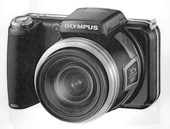 received some more details on the previously rumored Olympus SP800