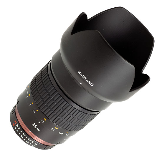 Samyang 35 mm f/1,4 AS UMC