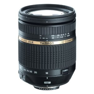 The current Tamron AF 18-270mm f/3.5-6.3 Di II VC LD Aspherical IF Macro Zoom lens