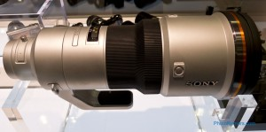Sony 500mm f/4 lens prototype