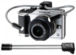 Olympus E-PL2 LED light