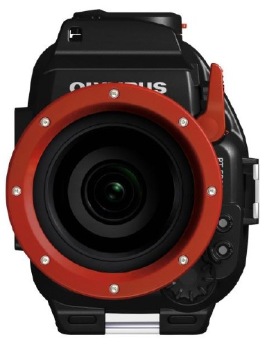 Olympus E-PL2 underwater housing