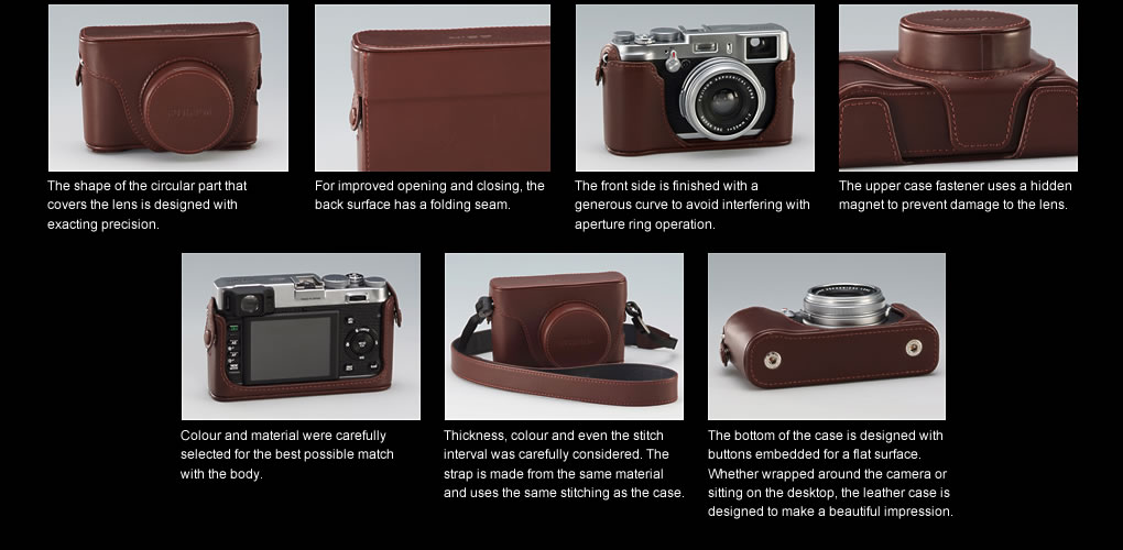 Fuji LC-X100 Premium Leather Case for X100