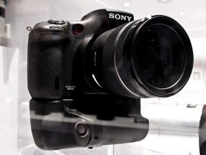 Sony A700 successor prototype