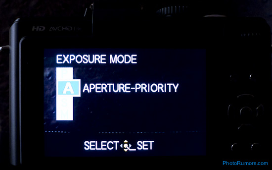 Panasonic LX5 video control options