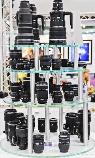 Various Olympus lenses