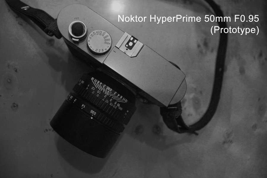 The full frame Noktor HyperPrime 50mm f/0.95 lens will be for Leica M mount