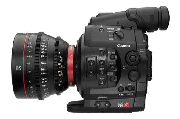 Canon EOS C300 Digital Cinema Camera 2