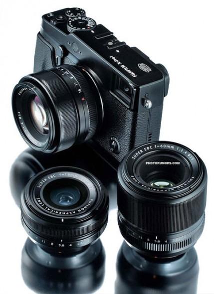 Fuji X Pro1 camera leneses 429x590 Detailed Fuji X Pro 1 specs