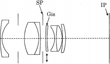 Canon 35mm f/2.0 lens patent