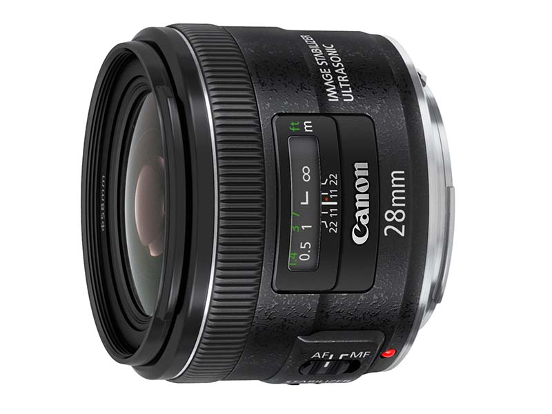 Canon EF 28 f/2.8 IS USM lens