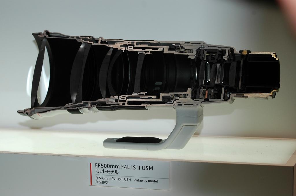 Canon EF500-IS-II Cutout