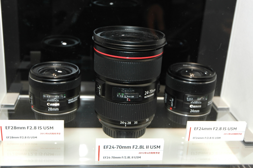 Canon's newly announced lenses
