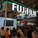 FujiFilm at the 2012 CP+ show in Yokohama Japan
