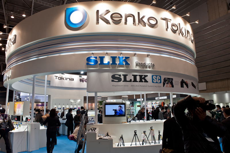 Tamron and Tokina at the 2012 CP+ show in Yokohama Japan