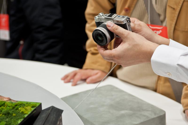 Pentax at the 2012 CP+ show in Yokohama Japan