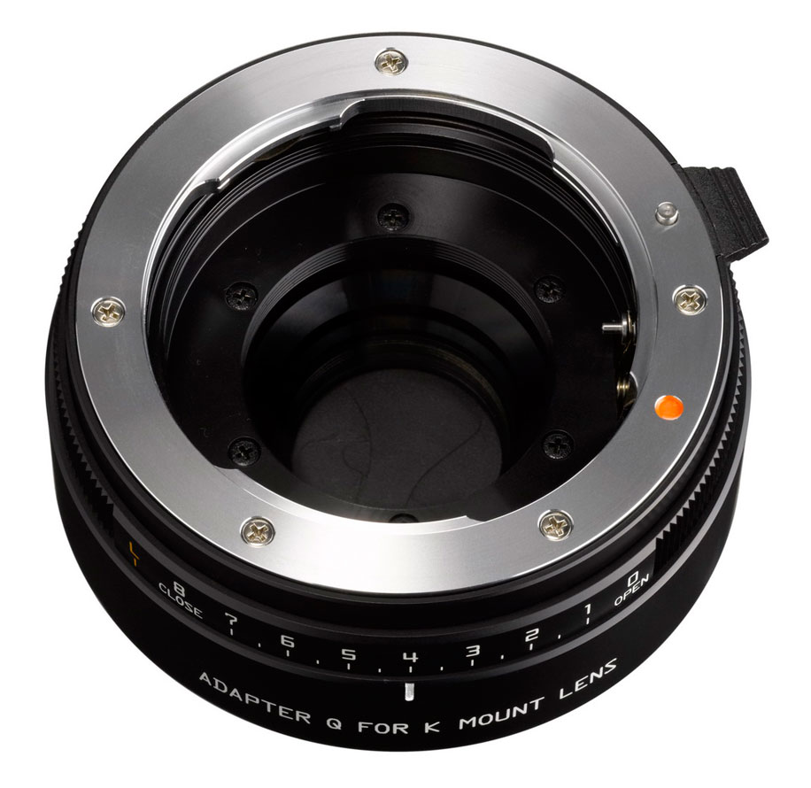 K-mount lens adapter for Pentax Q