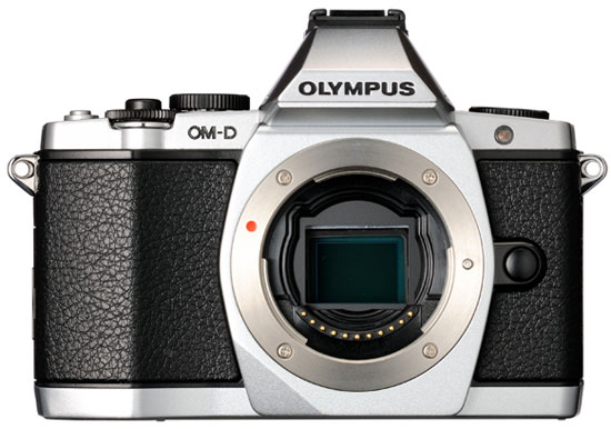 Olympus-E-M5-camera-front