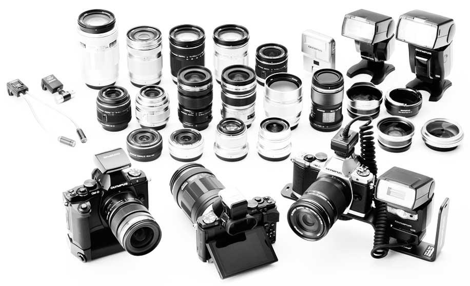 Olympus OM-D E-M5 camera accessories