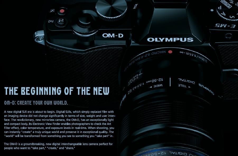 Olympus E-M5 台灣世界首發