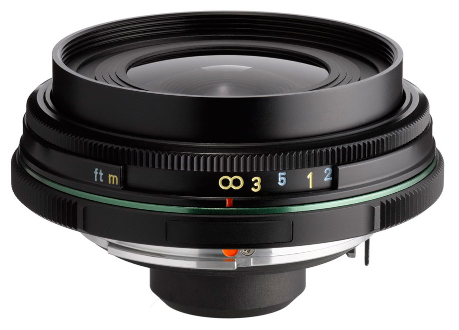 new Pentax K-01 lens