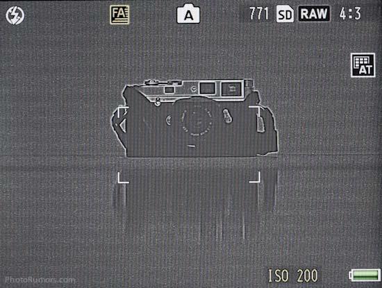 Ricoh GXR A12 Leica M-Mount focusing
