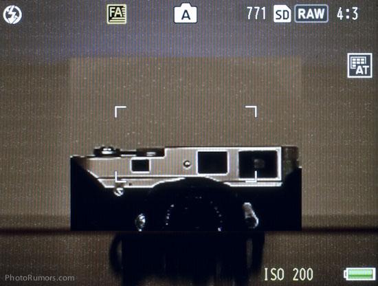 Ricoh GXR A12 Leica M-Mount focusing magnification