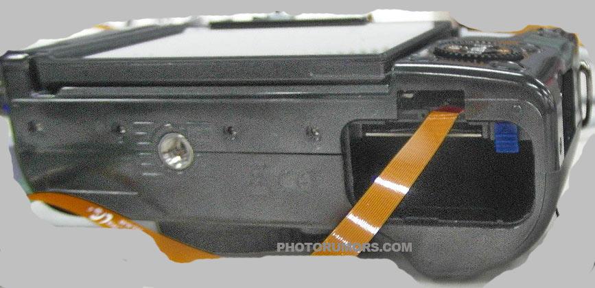 Samsung NX20 spy shot