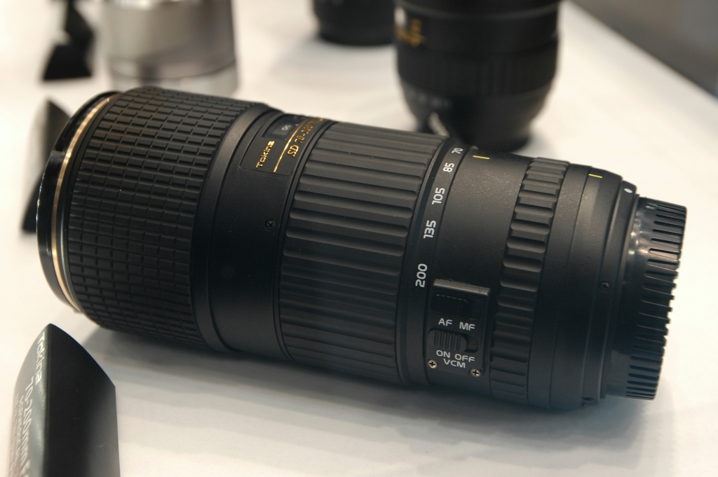 Tokina's Stabilized 70-200 F4 lens