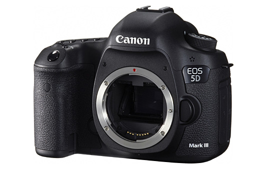 Canon 5d 3 front This is the Canon EOS 5D Mark III