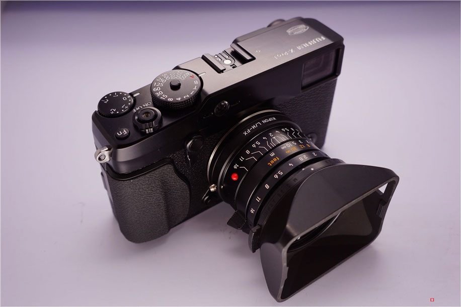 third party kipon m mount lens adapter for fuji x pro1 will start shipping this month photo rumors. Black Bedroom Furniture Sets. Home Design Ideas