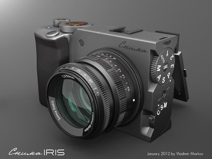 Interesting Mirrorless Camera Concept Photo Rumors