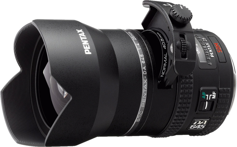 US decided to announce the D FA 645 25mm f/4 lens today. This lens