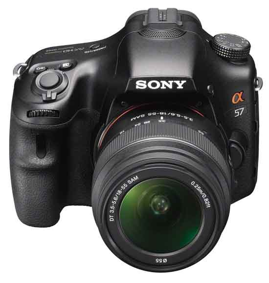 More Pictures Of The Upcoming Sony A57 Slt Camera