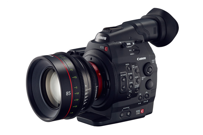 Canon Cinema EOS C500 camera
