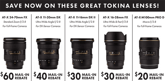 tokina-rebates