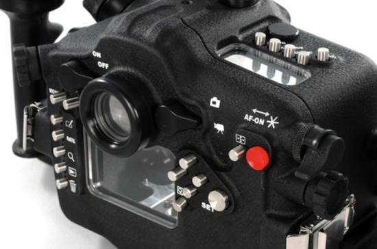 A5D Mk III is a new underwater housing for the Canon 5D Mk III camera