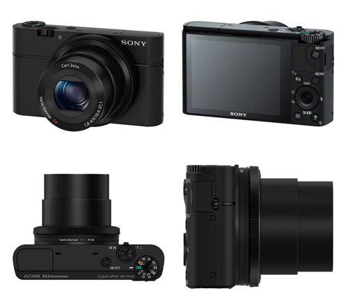 Here are the translated specs of the Sony Cybershot DSC-RX100 camera