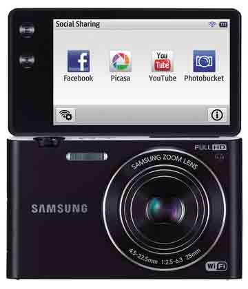 Samsung MV900F MultiView digital camera announced