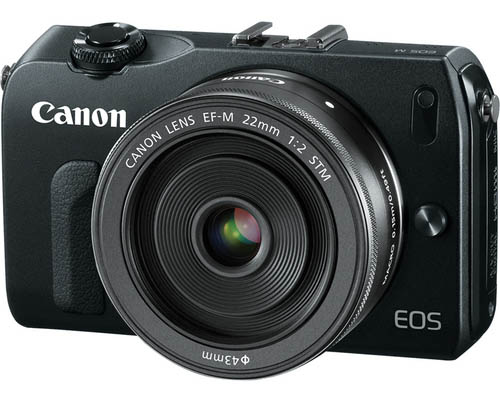 First image of the upcoming Canon mirrorless camera