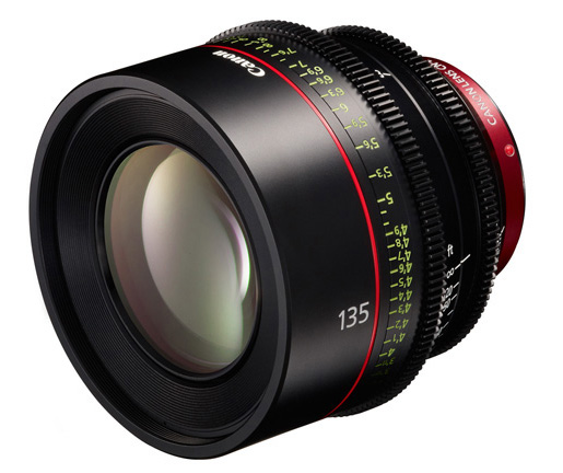 Canon 135mm T2.2 Cinema Prime Lens
