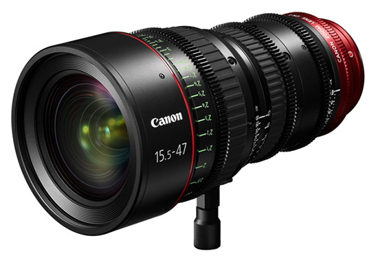 Canon CN-E15.5-47mm T2.8 L S/SP - 3/4