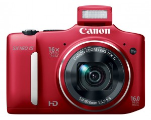 Canon PowerShot SX160 IS front