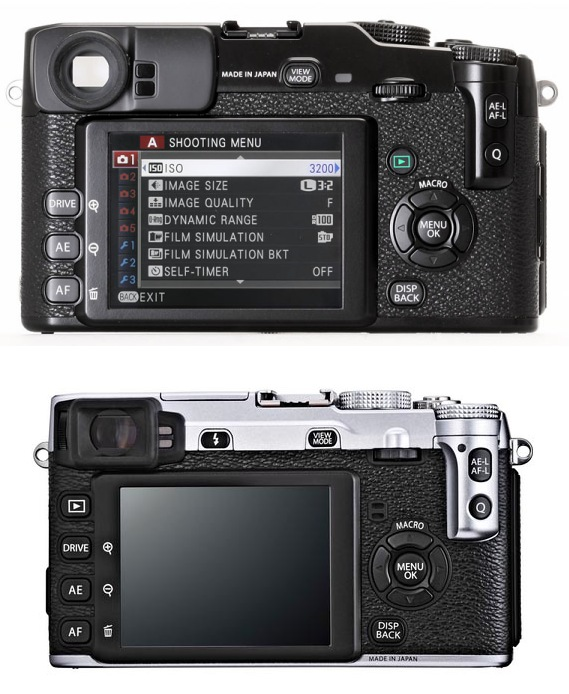 Here are few more X-Pro1 vs X-E1 size comparisons sent in by readers: